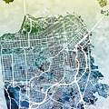 San Francisco City Street Map
