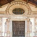 San Javier Church Facade by Jess Kraft