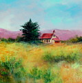 San Simeon School House by Sally Seago
