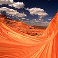 Sandstone Wave Curl by Adam Jewell