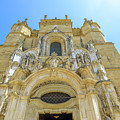 Santa Cruz Monastery Facade by Benny Marty