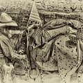 Santa Fe Cowboy by David Patterson