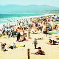 Santa Monica Beach by Cate O'Donnell