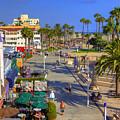 Santa Monica Beach by Ricky Barnard