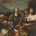 Santa Rosalia Of Palermo by MotionAge Designs