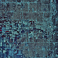 Satellite View Of Oklahoma City by Stocktrek Images