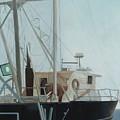Scallop Boat by Joyce Timberlake