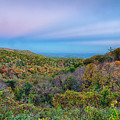 Scenic Blue Ridge Parkway Appalachians Smoky Mountains Autumn La by Alex Grichenko