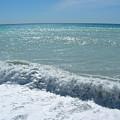 Sea Waves In Italy by Tiziana Verso