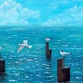 Seagull Seascape by Tony Rodriguez