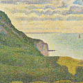 Seascape At Port-en-bessin Normandy by Georges Seurat