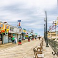 Seaside Boardwalk by William Rogers