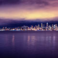 Seattle From Alki by Tanya Harrison