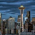 Seattle Night by Robert Fawcett