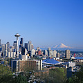 Seattle Skyline by Greg Vaughn - Printscapes