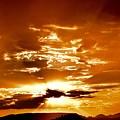 Sedona Sunset by Heber Lopez