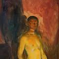 Self Portrait In Hell by Mountain Dreams