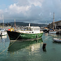 September Morning - Lyme Regis Harbour by Susie Peek