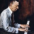 Sergei Rachmaninoff by Granger