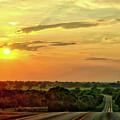 Setting Sun by Linda James