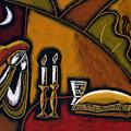 Shabbat Shalom by Leon Zernitsky