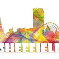 Sheffield England Skyline by Marlene Watson