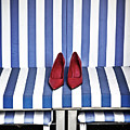 Shoes In A Beach Chair by Joana Kruse