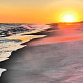 Shoreline Sunset by Jack Riordan