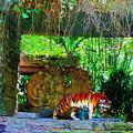 Shrine Visitor by Mickey Wright