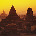 Shwesandaw Paya Temples by Gloria & Richard Maschmeyer - Printscapes