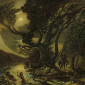 Siegfried And The Rhine Maidens by Albert Pinkham Ryder
