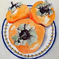 Simply Persimmons by Anna Jacke