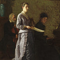 Singing A Pathetic Song by Thomas Eakins