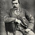 Sir Arthur Conan Doyle, 1859   1930 by Vintage Design Pics