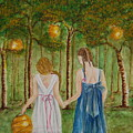 Sisters At Twilight by Tamyra Crossley