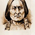 Sitting Bull by Gary Wonning