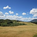 Sky And Countryside Near Olvera by Chani Demuijlder