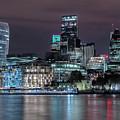 Skyline Of London by Joana Kruse