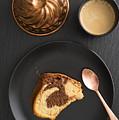Slice Of Marble Cake by Elisabeth Coelfen