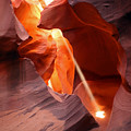 Slot Canyon by Betty Morgan