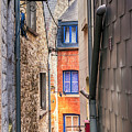 small street in Belgium town Durbuy by Ariadna De Raadt