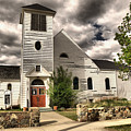 Small Town Church by Jeff Swan