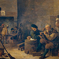 Smokers by David Teniers the Younger