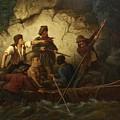 Smuggler In A Boat by Ernst Bosch