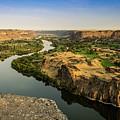 Snake River Canyon In Idaho Journey Landscape Photography By Kaylyn Franks by Kaylyn Franks