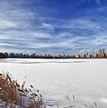 Snow Storm 2 Panorama  by Robert Ullmann