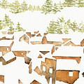Snow Town by Youngjin Hwang