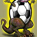 Soccer Saurus Rex by Kevin Middleton