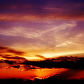 Southern Sunset by Toni Hopper