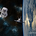 Space Rescue by Marc Ward